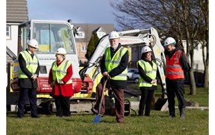 Sod Cutting Event For New Homes Coming To North Manchester Copy