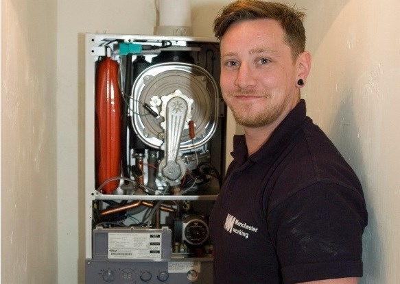 One Of Our Operatives Checking A Boiler