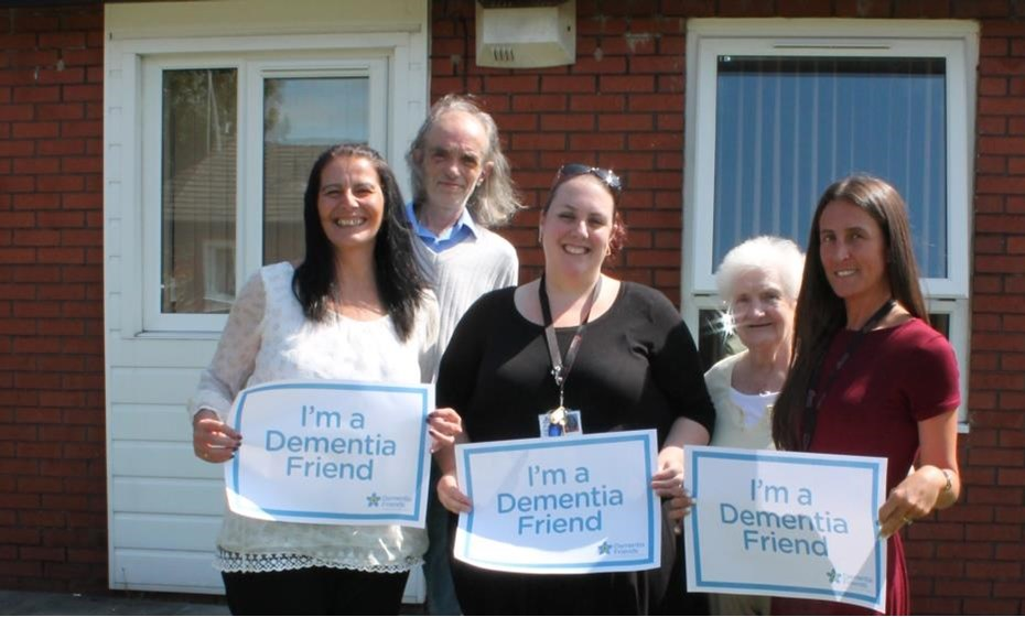 Our retirement scheme managers are officially Dementia Friends