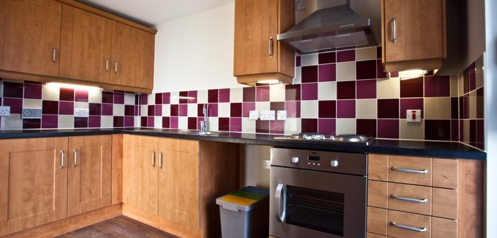 A Kitchen In Whitebeck Court