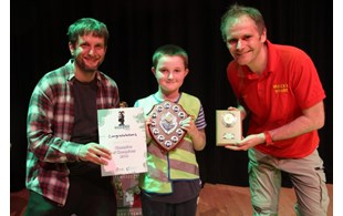L R Joseph Cain Of Gmyn Champion Of Champions Lewis Quinn And Childrens Entertainer Wacky Woody